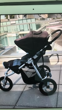 Bubleride Indie, stroller.  Bought in 2012, but really never used except for a total of 5 weeks while on vacation (we were living in Mozambique and India at the time, and there were no sidewalks). Stroller is easy to run with, can be used in different ter Richmond, V7C