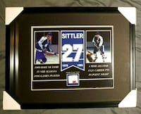 Daryl Sittler Game Used Stick Framed w/COA  Caledon, L7E 2X9