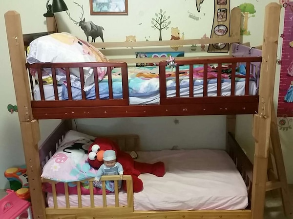 Used Toddler Bunk Bed Anahola Kauai Very Sturdy For Sale In