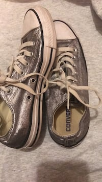 Silver converse shoes  Semmes, 36575