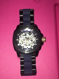 Fossil (ME3133) Men's Modern Machine Watch In Black/Blue 10/10 CONDITION!!!! $130 NO TRADES Indianapolis, 46222
