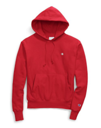 Brand New Men`s Champion Reverse Weave Hoody in Team Red Scarlet Toronto