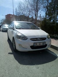 2012 Hyundai Accent Blue 1.4 CVVT MODE PLUS OTM Erler