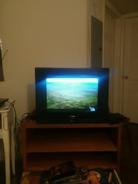 black flat screen tv.great picture. And sound Arlington, 22201