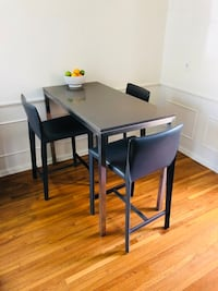 Room & Board Portica Table and Sava Stools