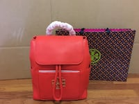 Tory Burch Britten Backpack Pebble Leather Alexandria, 22311