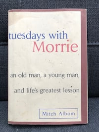 VGUC Mitch Albom - Tuesdays with Morrie Hardcover  Ajax, L1Z 1C9