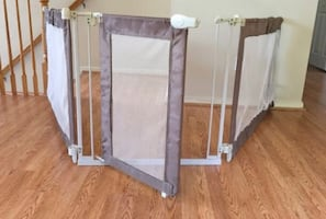 Extra wide/long baby gate