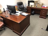 Office furniture for 3 separate offices (All 3 desks are 2-parts slightly used) Columbia, 21046