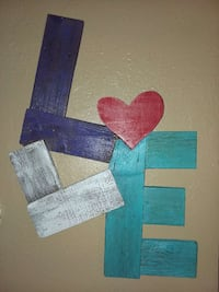 Handmade love sign  South Plains, 79258