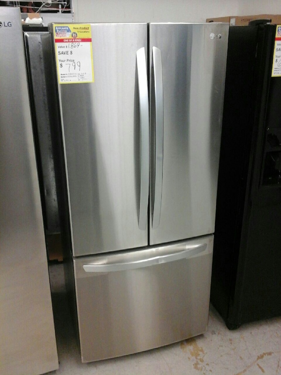 Used lg french door refrigerator for sale