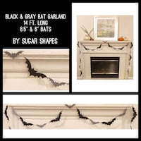 New Custom LONG Bat Garland Farmers Branch, 75244