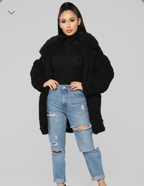 02217ae108e Used Fashion nova faux fur jacket for sale in Toronto - letgo