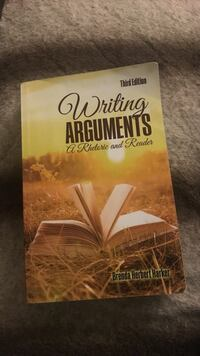 Writing Arguments Third Edition book