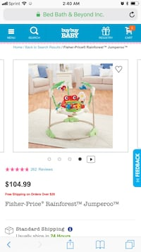 Fisher-Price Rainforest Jumparoo Westworth Village, 76114