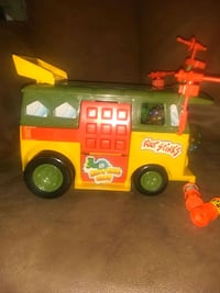 original 100percent complete from 89 TMNT party wagon