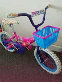 "Shopkins 16"" bike, pink"