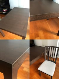 IKEA dining table and 2 chairs  Toronto, M5G