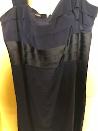 Navy Blue Ribbon Dress. Size 20 Columbia, 21046
