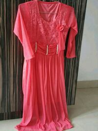 women's pink longsleeve dress Hyderabad