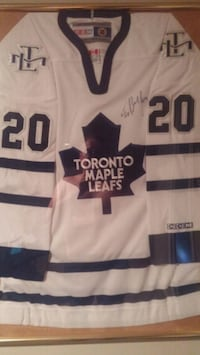 Leafs Jersey - Signed and framed Ed Belfour Jersey Oakville, L6H 2L4