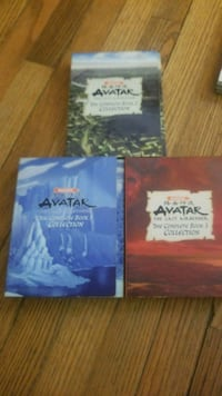 Avatar the last air bender the DVDs  St. Louis, 63136