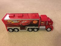 red and grey Disney Mcqueen freight truck toy Burke, 22015
