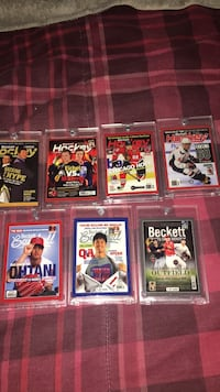 Beckett one touch numbered cards Toronto, M1P 3G9