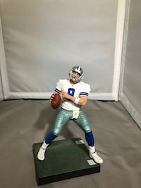 Tony Romo vintage Cowboys football display Somerset, 08873