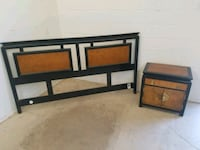 King head board and night stand  Clarkdale, 86324