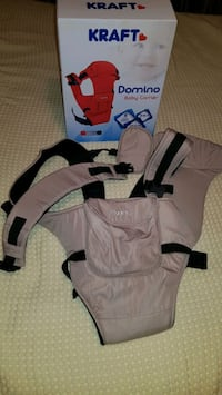 Kraft Domino Bej Kanguru Baby Carrier