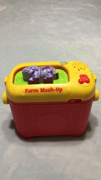 Yellow and red leap frog farm mash-up Brampton, L6S 2E1
