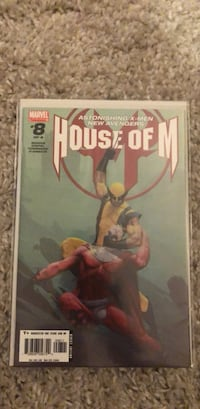 House of M 8 comic book Toronto, M6M 5C4