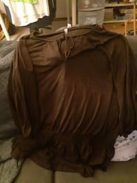 Brown ladies shirt xxL