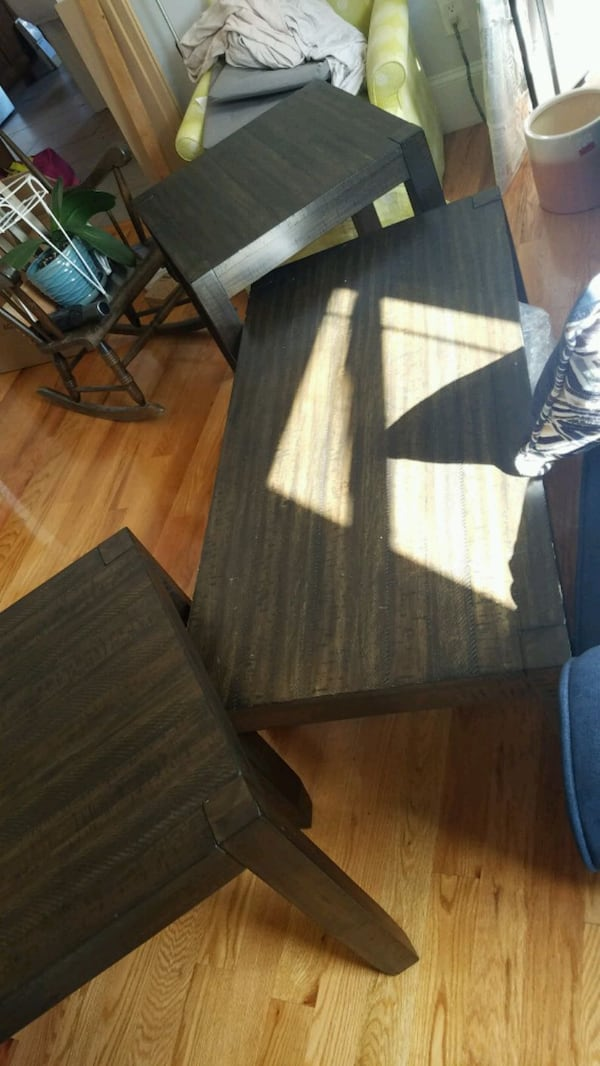 Espresso Wood Coffee and Accent tables 83d59f35-8c2b-4e50-83e8-4f57aa6dc89b