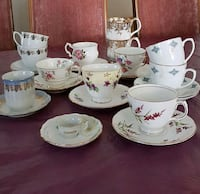 Selection of pretty tea cups St. Albert, T8N 5K1