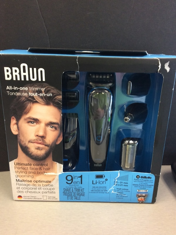 Braun All in One Trimmer Brand New! 9cdca03a-902f-4d7c-9940-9823632a154e