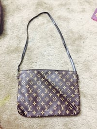 black and brown Louis Vuitton leather crossbody bag Sayreville, 08872