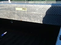 Diamond plate truck box
