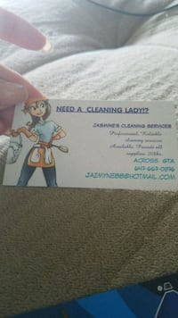 Cleaning services  Toronto, M1J 3G2