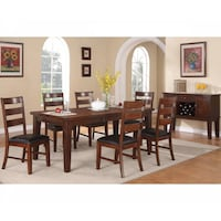 Dining Table and 6 Side Chair  - Brand New - Free Home Delivery SF bay area Fremont