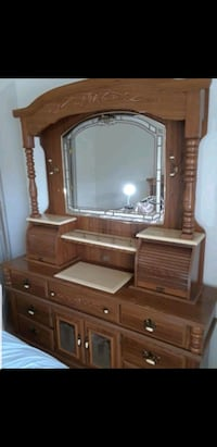 Dresser with mirror. High Quality Furniture Sterling, 20164