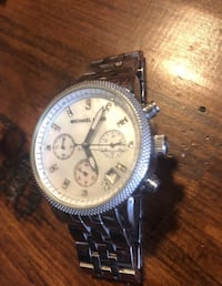 Michael Kors Watch with mother of pearl face & Swarovski crystals  Whitby, L1R 1S1