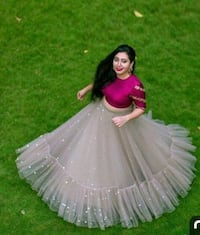 women's white and pink dress Hyderabad