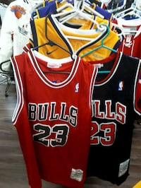 red and black Chicago Bulls 23 jersey Montréal, H3N 2R6