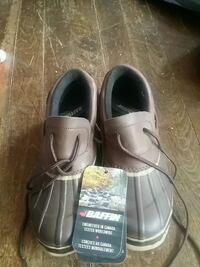 Men's Coyote Boat Shoes size 9