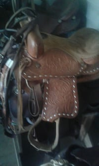 brown leather horse saddle bag West Monroe, 71292