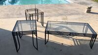 Coffee table and end tables good condition Bakersfield, 93312