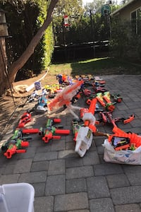 NERF GUNS (all working perfect) $5 to $15 per gun! Great for Christmas Los Gatos, 95032