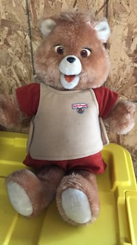 brown and red bear plush toy Whittier, 90604